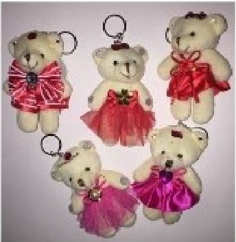 Plush Bears Key Chains (V-Gram)