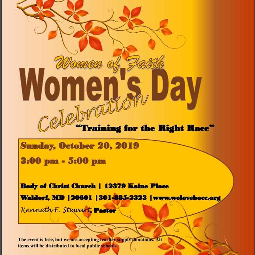Women's Day Celebration