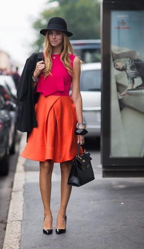 Como combinar cor de laranja _ Moda & St