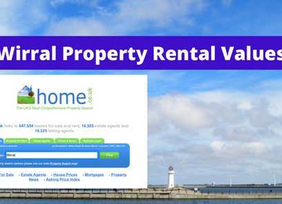 Wirral Rental Property Values