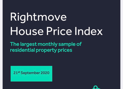 Rightmove House Price Index September 2020