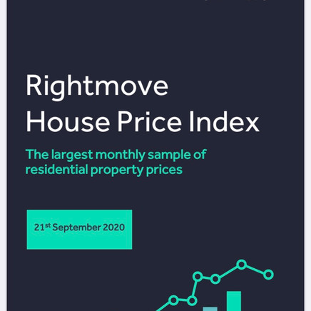 Rightmove House Price Index September 2020