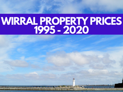 Wirral Property Prices 1995 - 2020