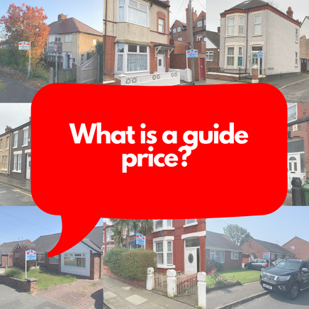 What is a property auction guide price?