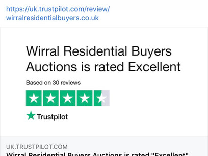 5⭐️ Reviews Wirral Residential Buyers Auctions
