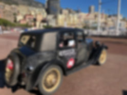 57 On the front at Monaco before the ret
