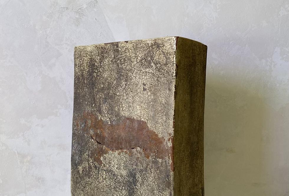 Mottled Block Vase