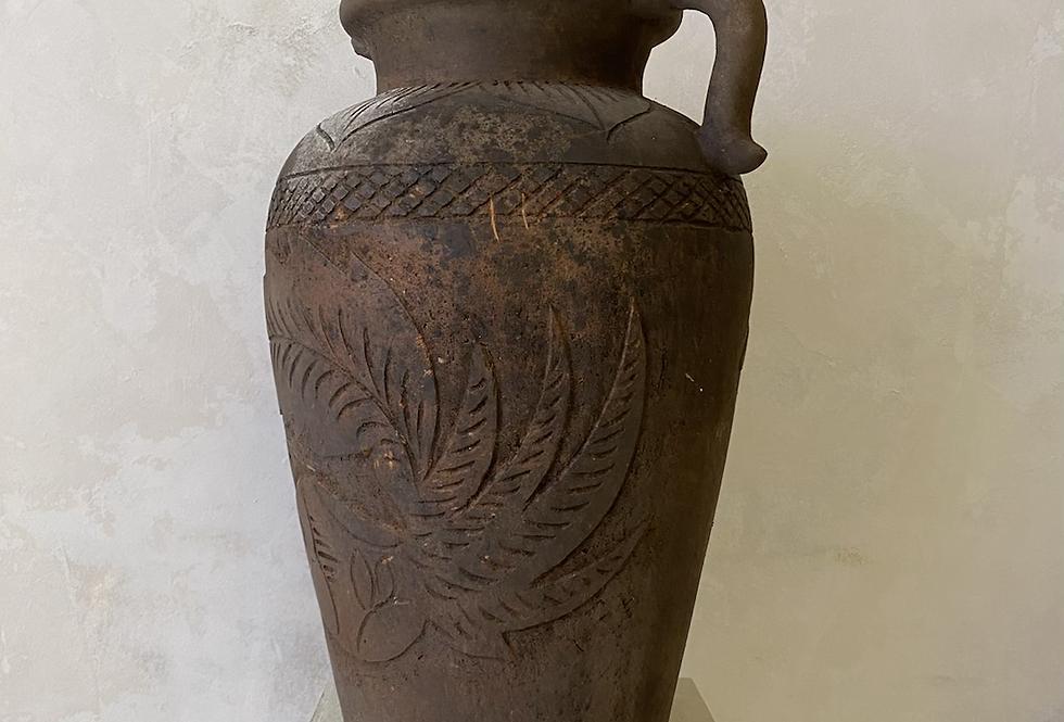 Palm Engraved Urn