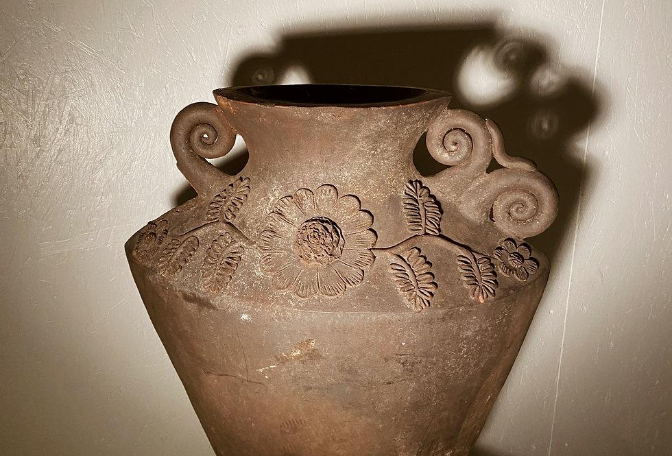 Floral Motif Vase