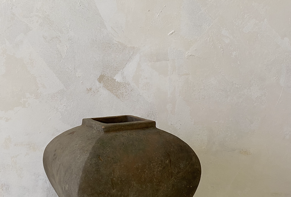 Terracotta Lantern Vase