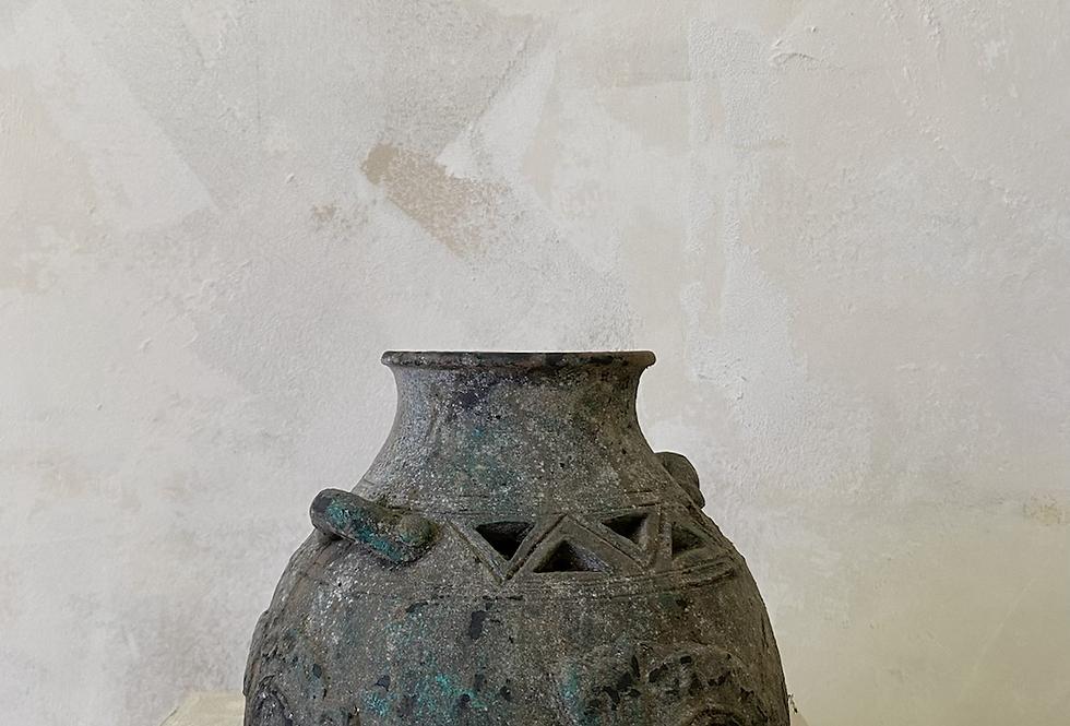 Ornate Handle Vase