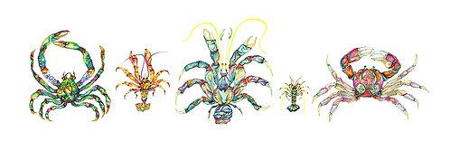 Five Crustaceans