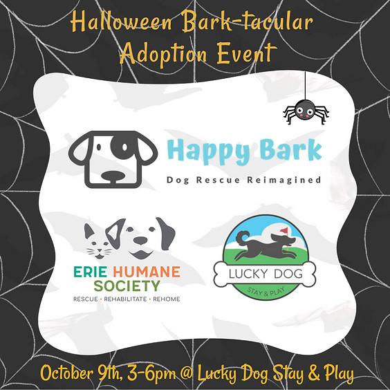 Halloween Bark-tacular Adoption Event