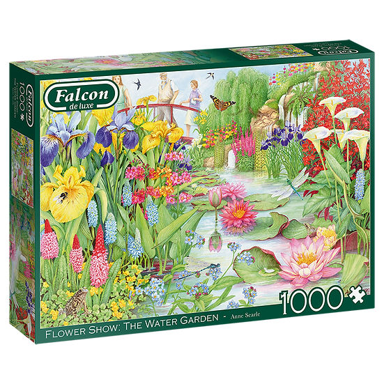 The Flower Show: Water Garden 1000 Piece