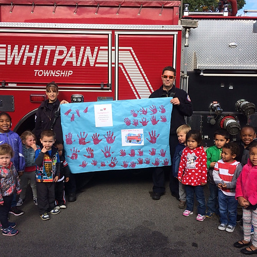 Fire Prevention Visit to A Child's Place