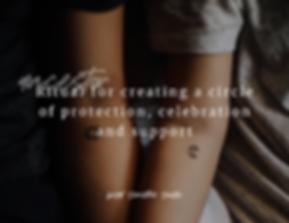 Ritual Circle of Protection and Celebrat