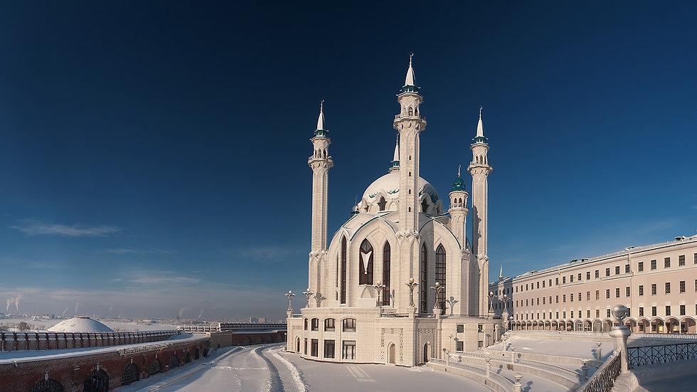 Рождество снежной Казани, Казань - Свияжск, 4 дня, ж/д