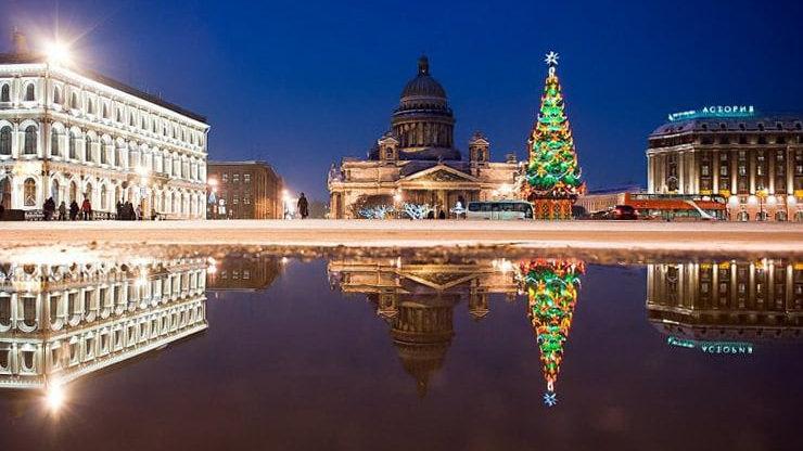 Санкт-Петербург. Новый год в северной столице