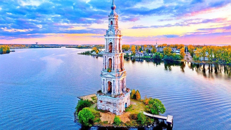 Калязин - Углич - Мышкин - Рыбинск - Тутаев - Ярославль, 2 дня, автобусный тур