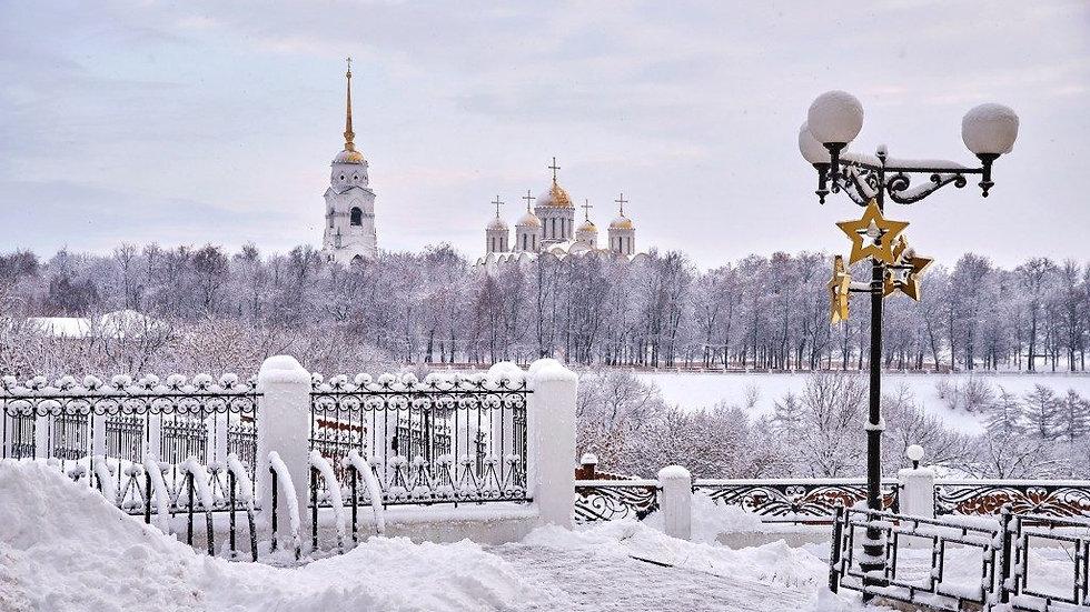 Новогодние города Золотой Руси. Владимир- Суздаль,2 дня,  автобус
