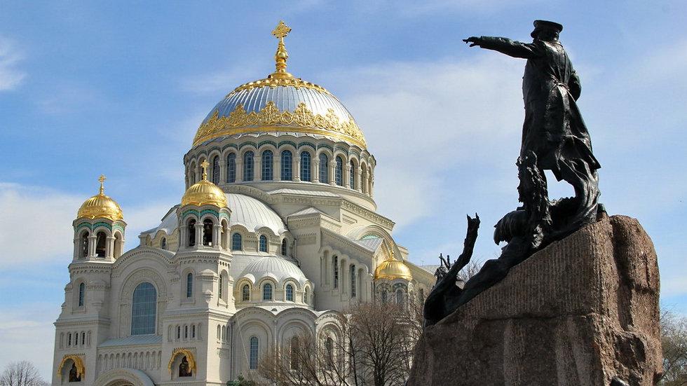 Непобеждённая Пальмира, Санкт-Петербург - Петергоф - Кронштадт, автобусный тур