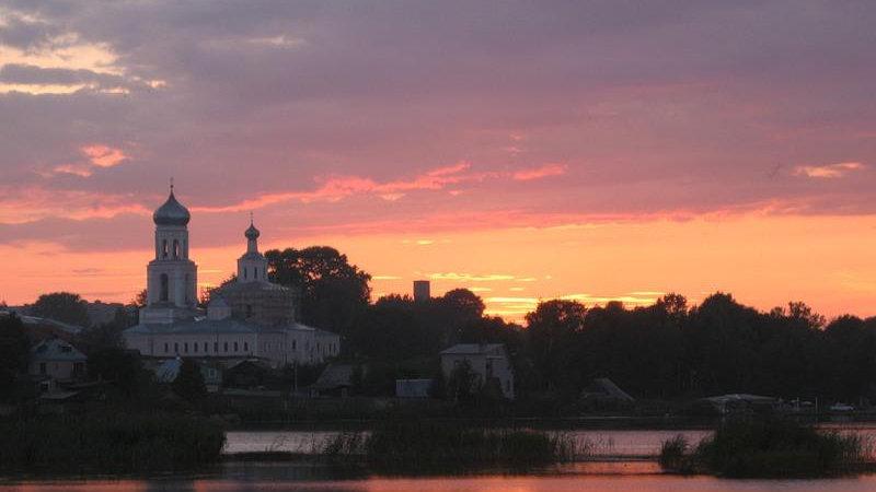 Две столицы Древней Руси