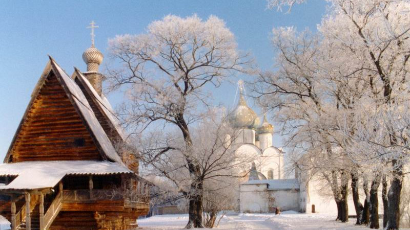 Новый год в русском стиле. Владимир - Суздаль