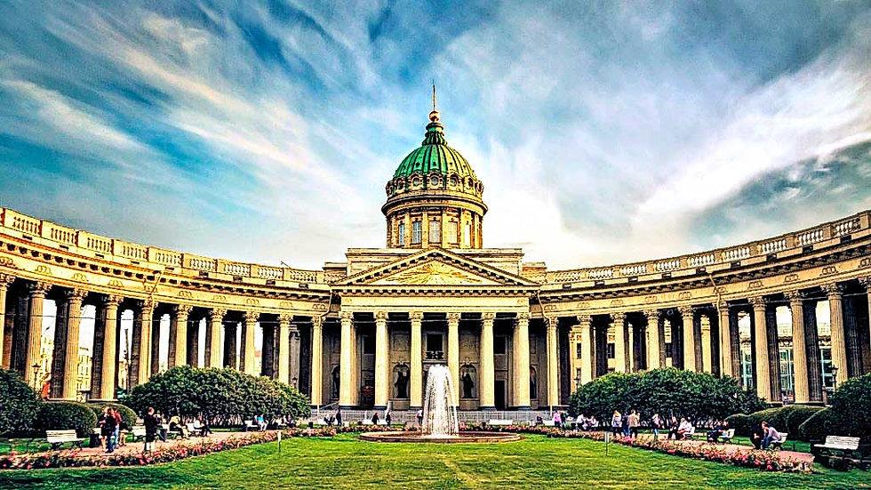 Парадный Петербург, Санкт Петербург - Петергоф - Кронштадт, автобусный тур