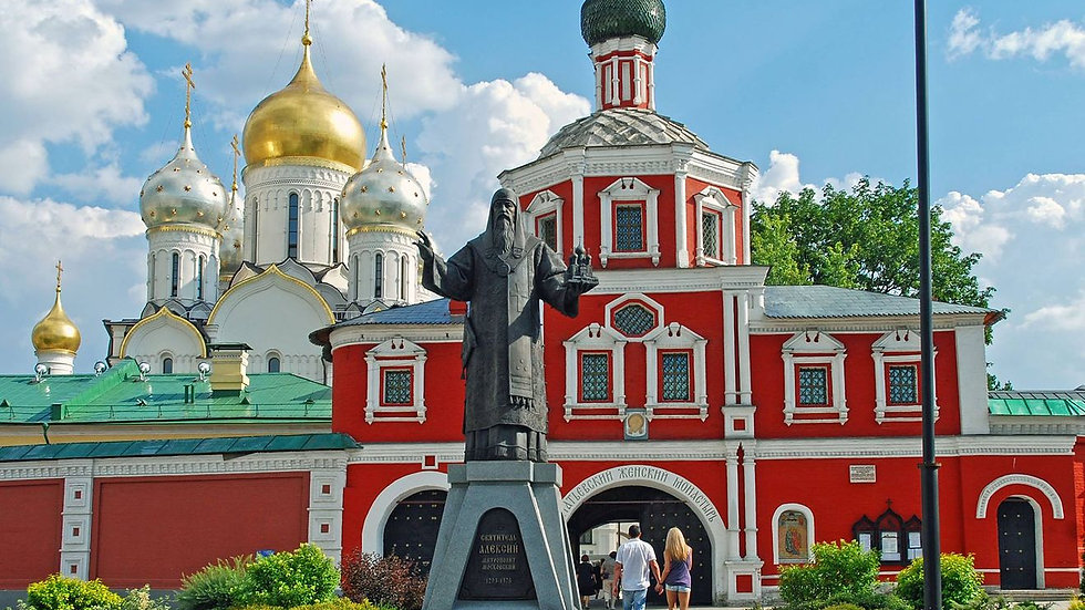 Монастыри и Храмы Москвы