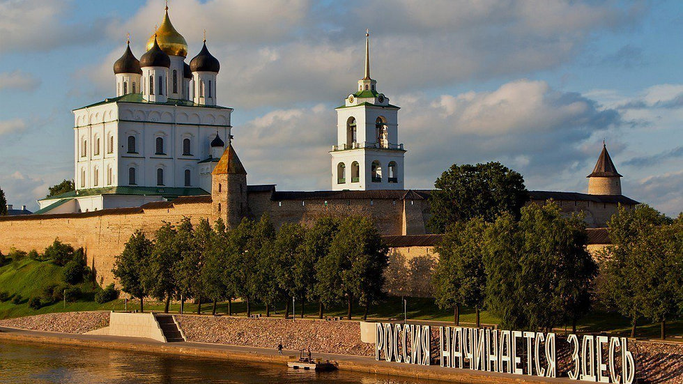 Старая Ладога - Великий  Новгород – Пушкинские Горы – Псков ..... 6 дней, ж/д
