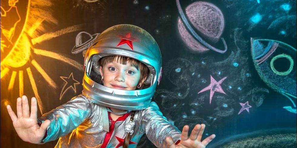 Я космонавт.