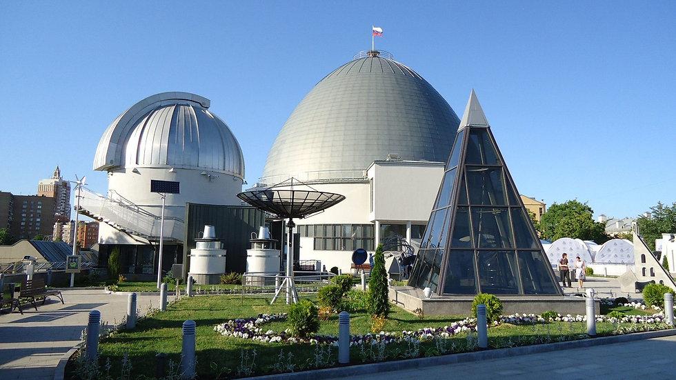 Московский планетарий, тематическая экскурсия