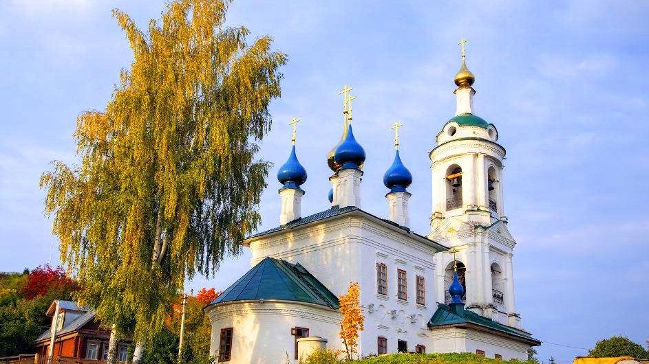 Столица русского пейзажа — Плёс, Иваново - Палех