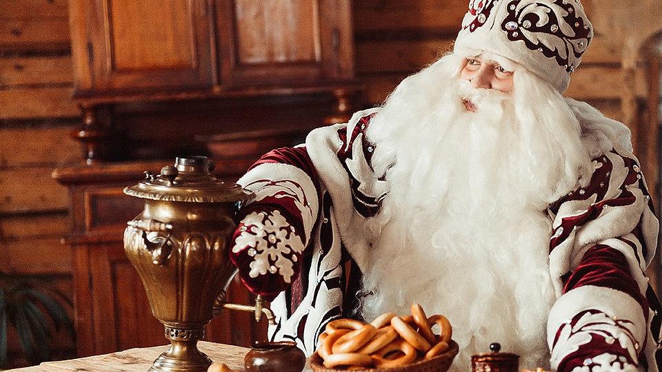 Волшебная кухня Деда Мороза