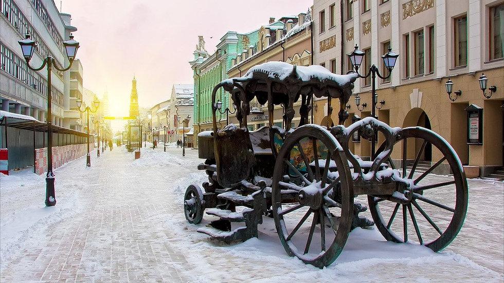 Серебряные кружева Казани, 5 дней автобусный тур