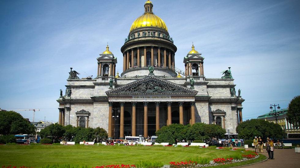 Санкт-Петеребург. Ноябрьские праздники в северной столице