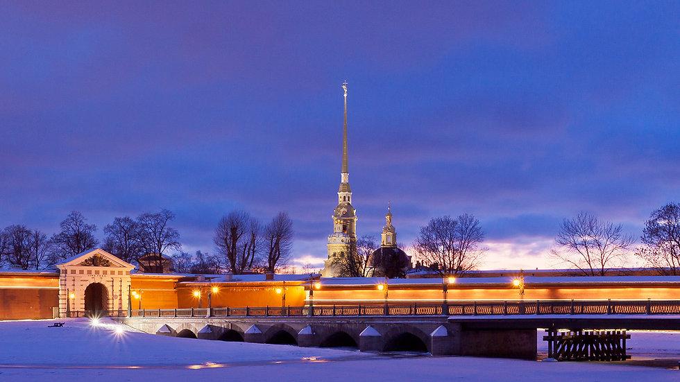 Рождественские праздники в Санкт-Петербурге