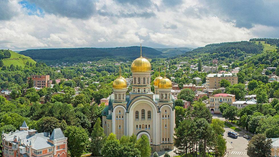 Кавказ, 5 дней, ж/д или авиа