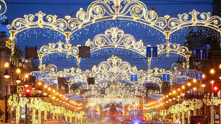 Новогодние каникулы в Северной столице. Санкт-Петербург