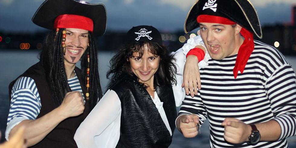 Пиратский  выпускной на теплоходе.