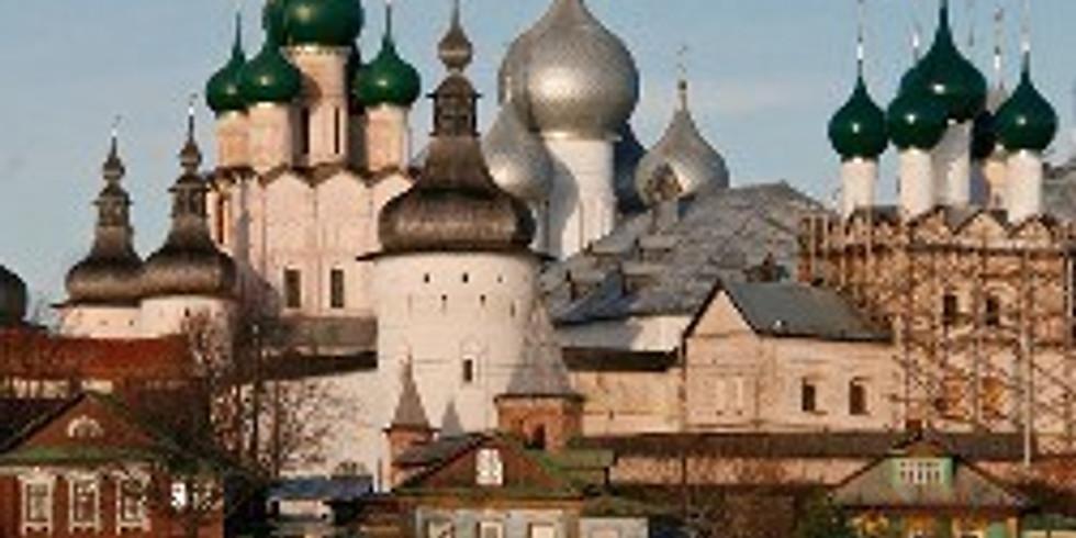 Ростов Великий - город юных мастеров.