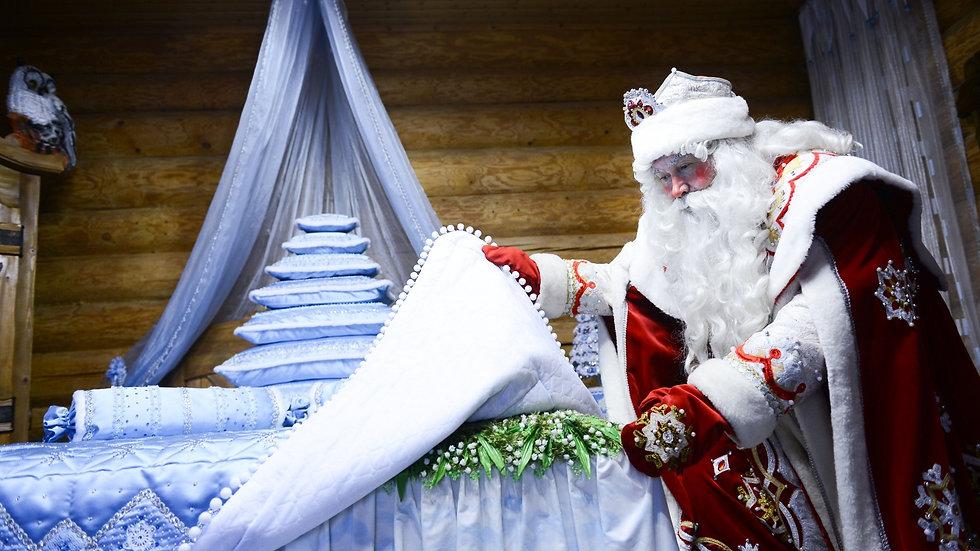 Новогоднее приключение в усадьба Деда Мороза