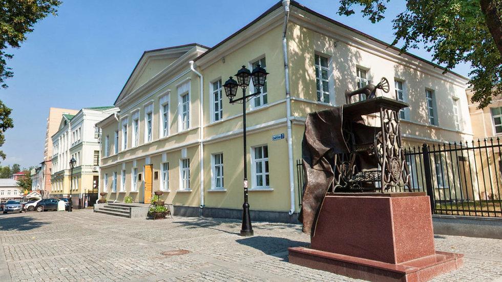 По старым улицам Подольска