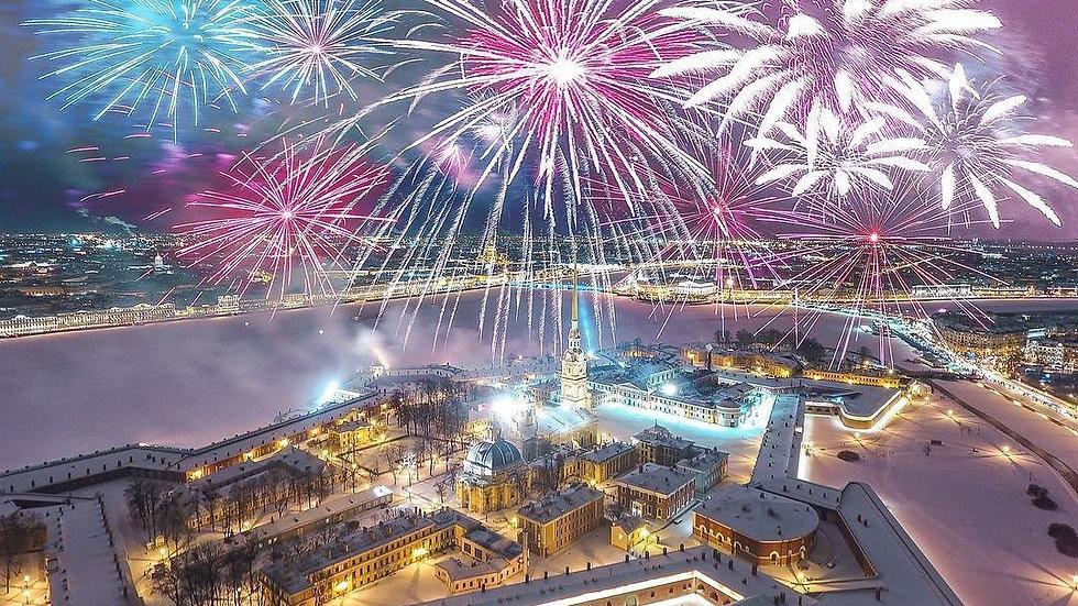 Новый год в Северной столице, 3 дня, ж/д