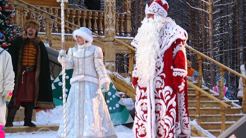 Зимний экспресс «В гости к Деду Морозу», 3 дня, с проездом на ЖД