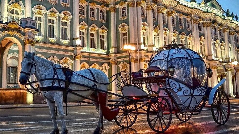 Новый год в Санкт-Петербурге - недорого, 5 дней, ж/д
