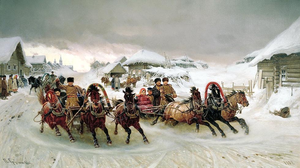 Крестьянский новый год, экскурсия-квест, с мастер классом..
