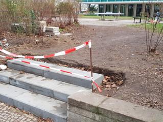 Park Öffnung Richtung Albrechtstr
