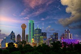 Dallas City skyline at twilight, Texas, USA.jpg