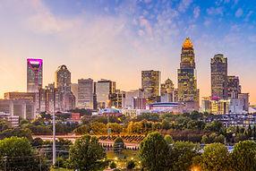 Charlotte, North Carolina, USA uptown skyline at dusk..jpg